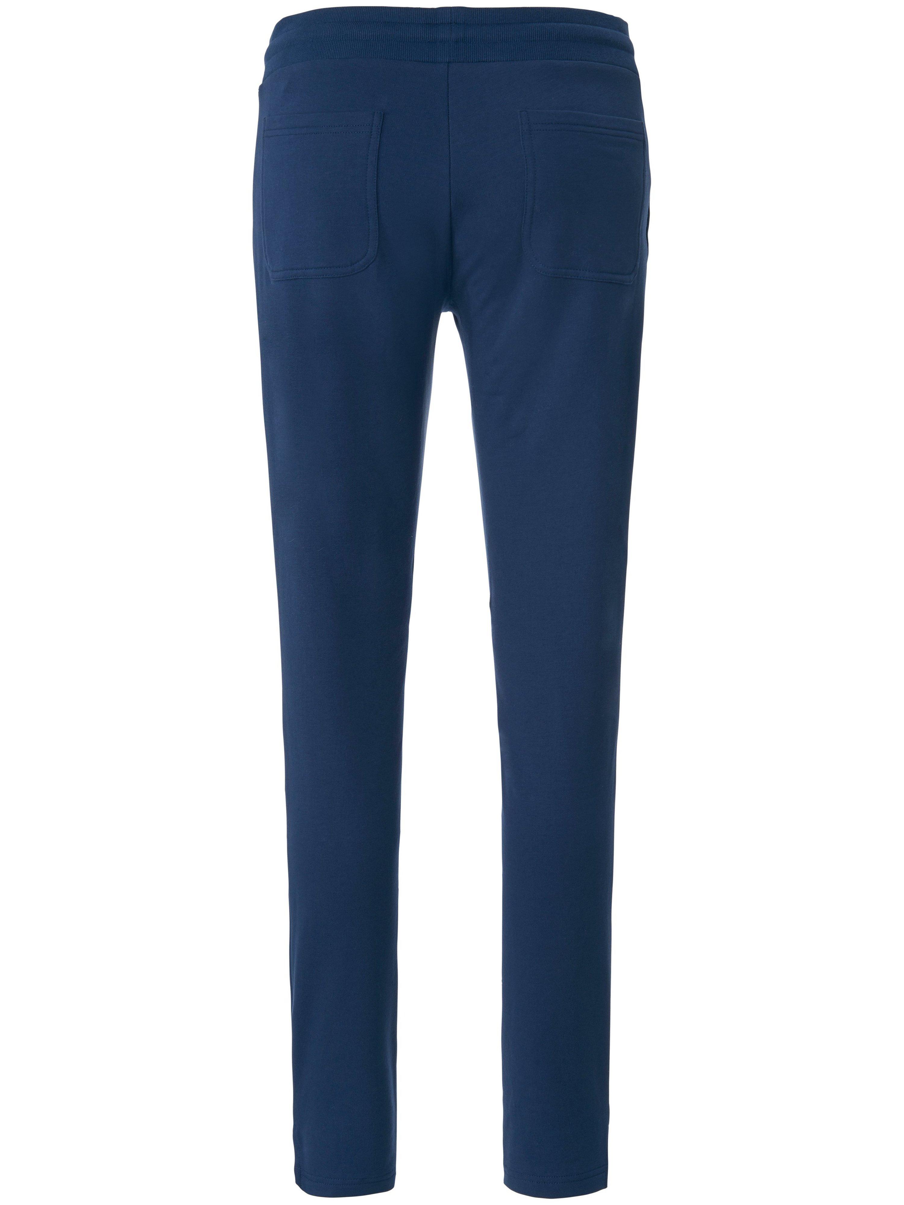 Ankellang sweatbuks elastisk linning Fra Mey blå