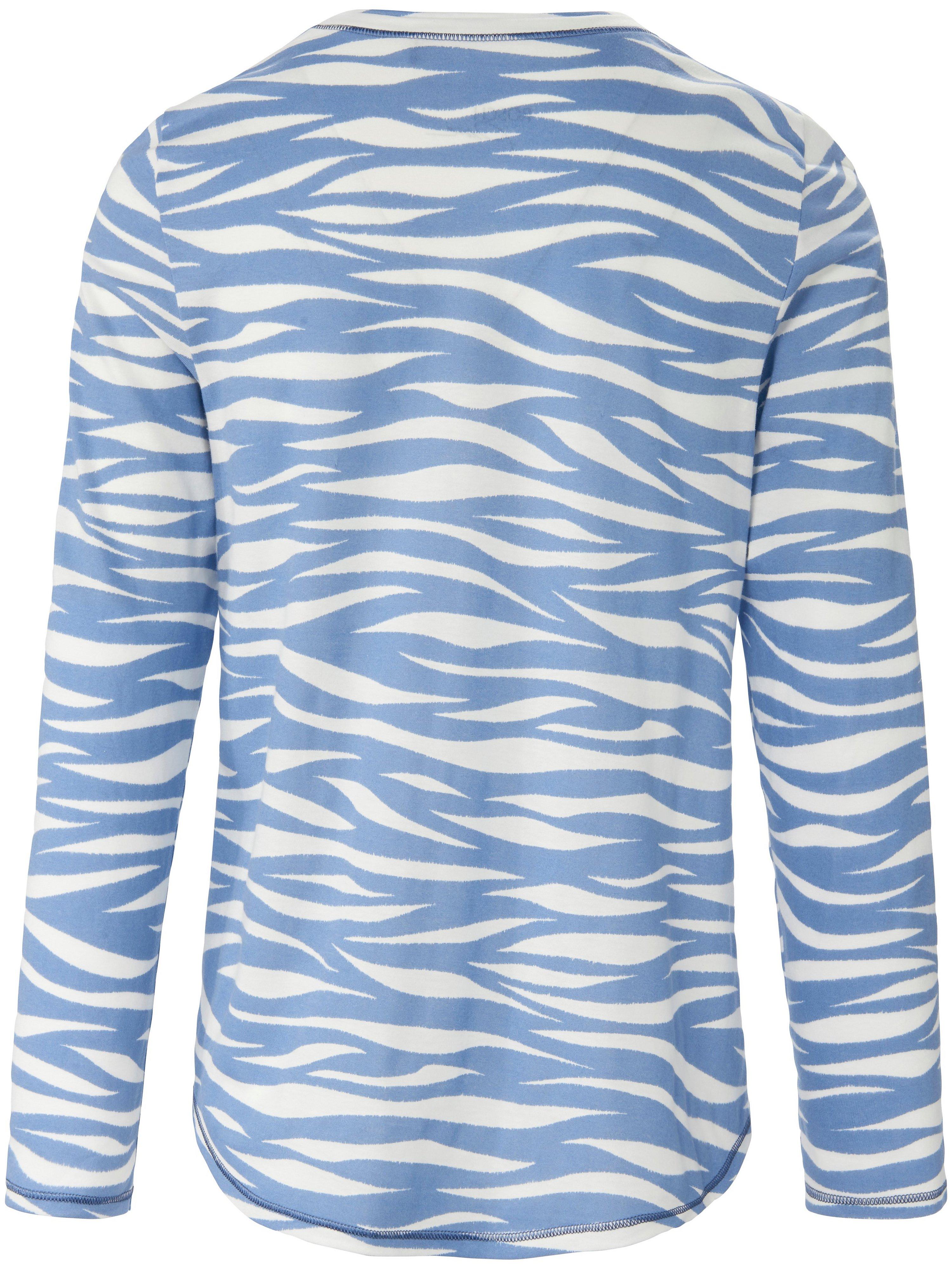 Pyjamas i blød og lækker singlejersey Fra Rösch Pure blå