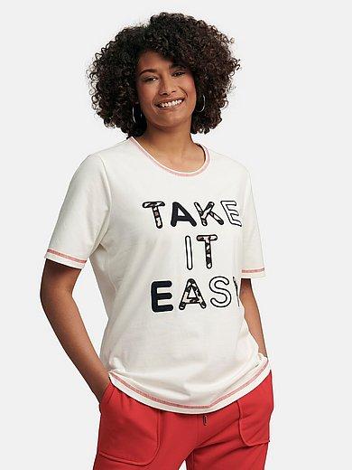 Emilia Lay - Le T-shirt en jersey avec coutures flatlock rouges