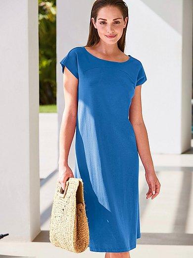 Peter Hahn - Jersey-Kleid mit Rundhals-Ausschnitt