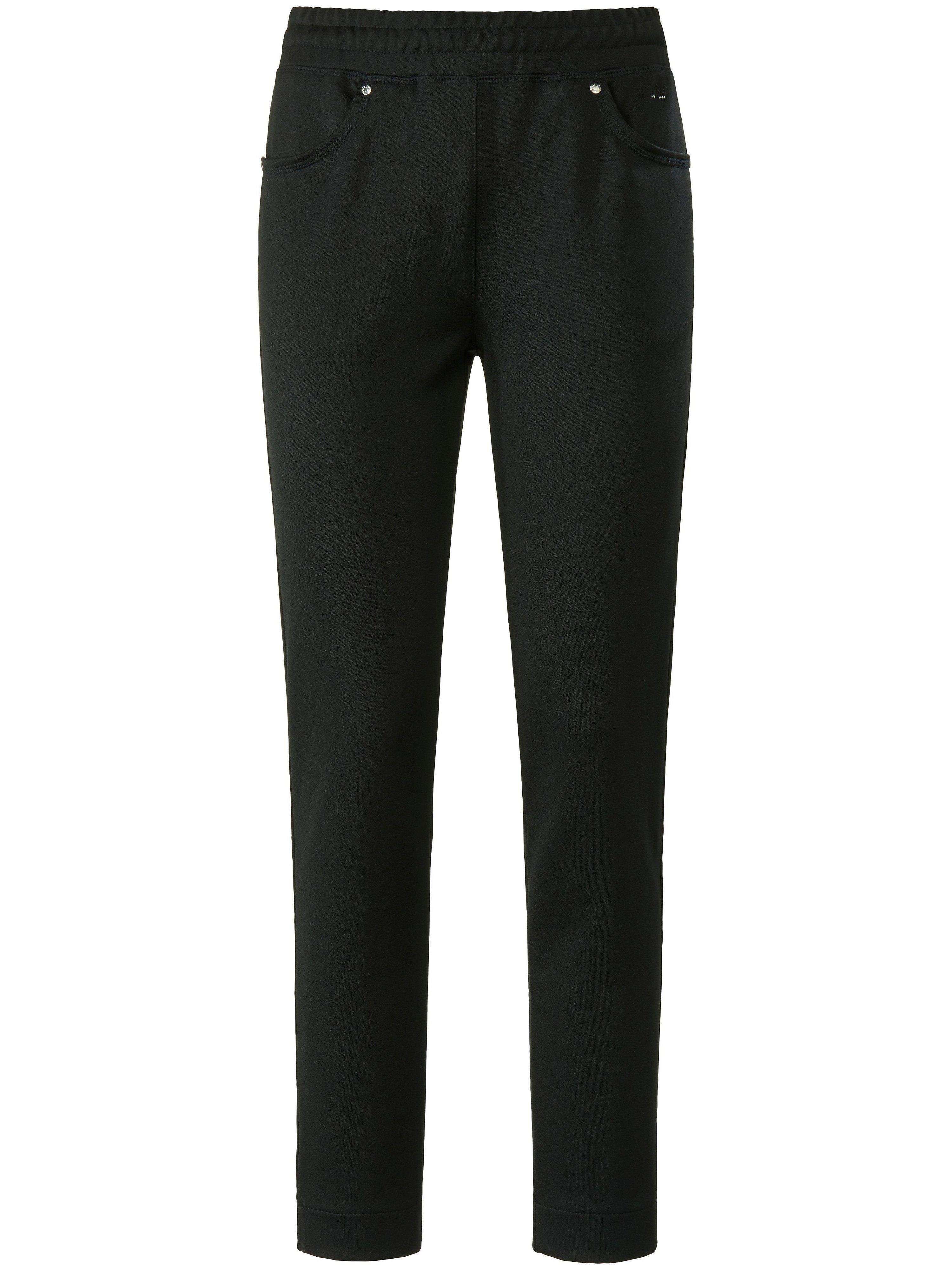 Le pantalon longueur chevilles taille élastiquée  Canyon noir taille 50