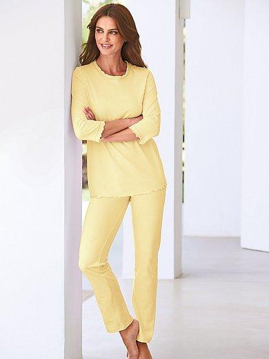 Peter Hahn - Pyjama van 100% katoen met 3/4-mouwen