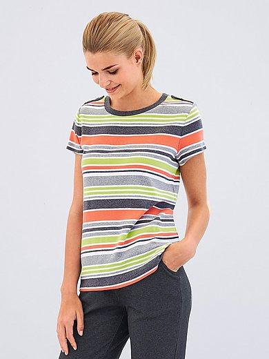 Peter Hahn T shirt med rund hals og korte ærmer Multicolor