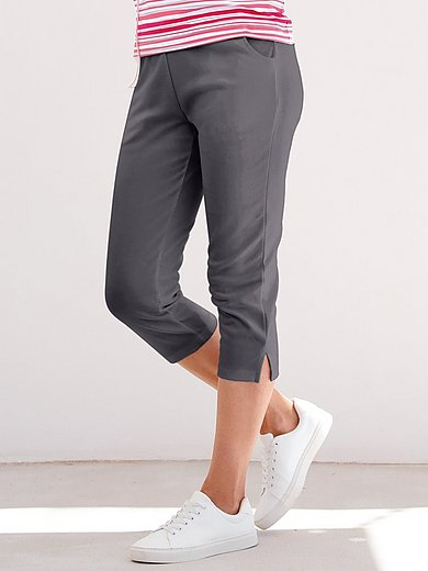 Peter Hahn - 3/4 length trousers with elasticated waist