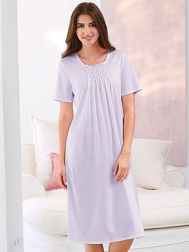 Féraud - La chemise de nuit en pur coton, manches courtes
