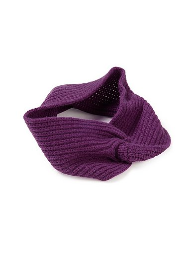 Peter Hahn Cashmere - Stirnband aus 100% Premium-Kaschmir