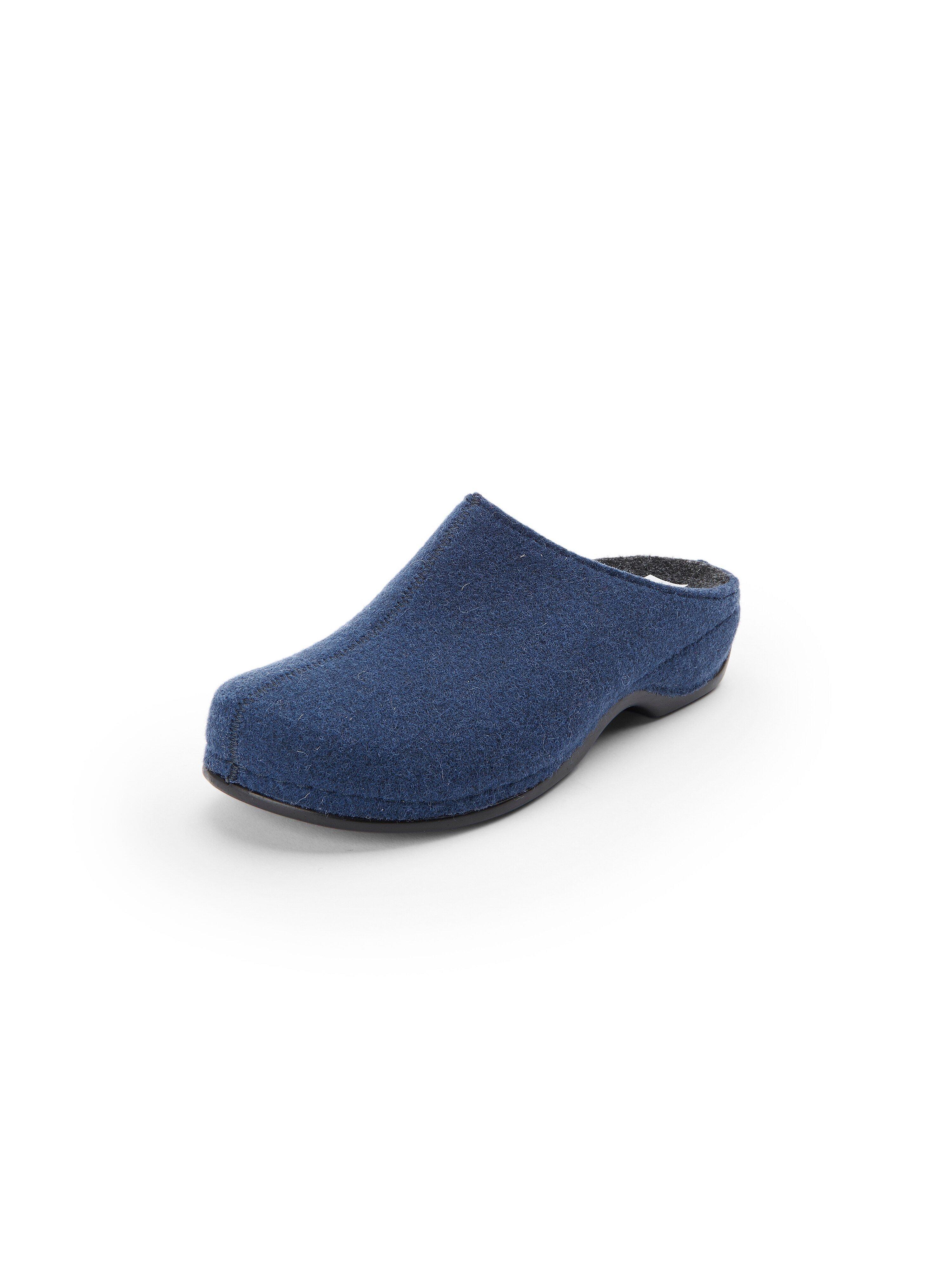 Pantoffels model Florina Van Berkemann Original blauw