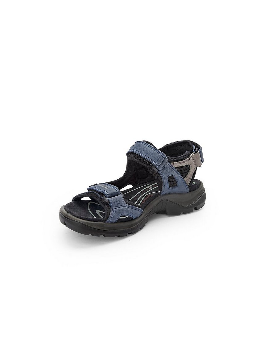Peter Hahn Damen Sandale, blau, Damen Sandalen, Art Nr