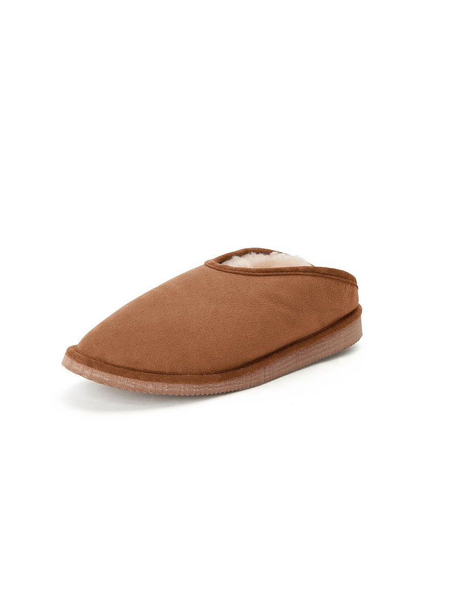 Lammfell-Pantoffel Fatima Kitzpichler braun Größe: 37 | Schuhe > Hausschuhe > Pantoffeln | Kitzpichler