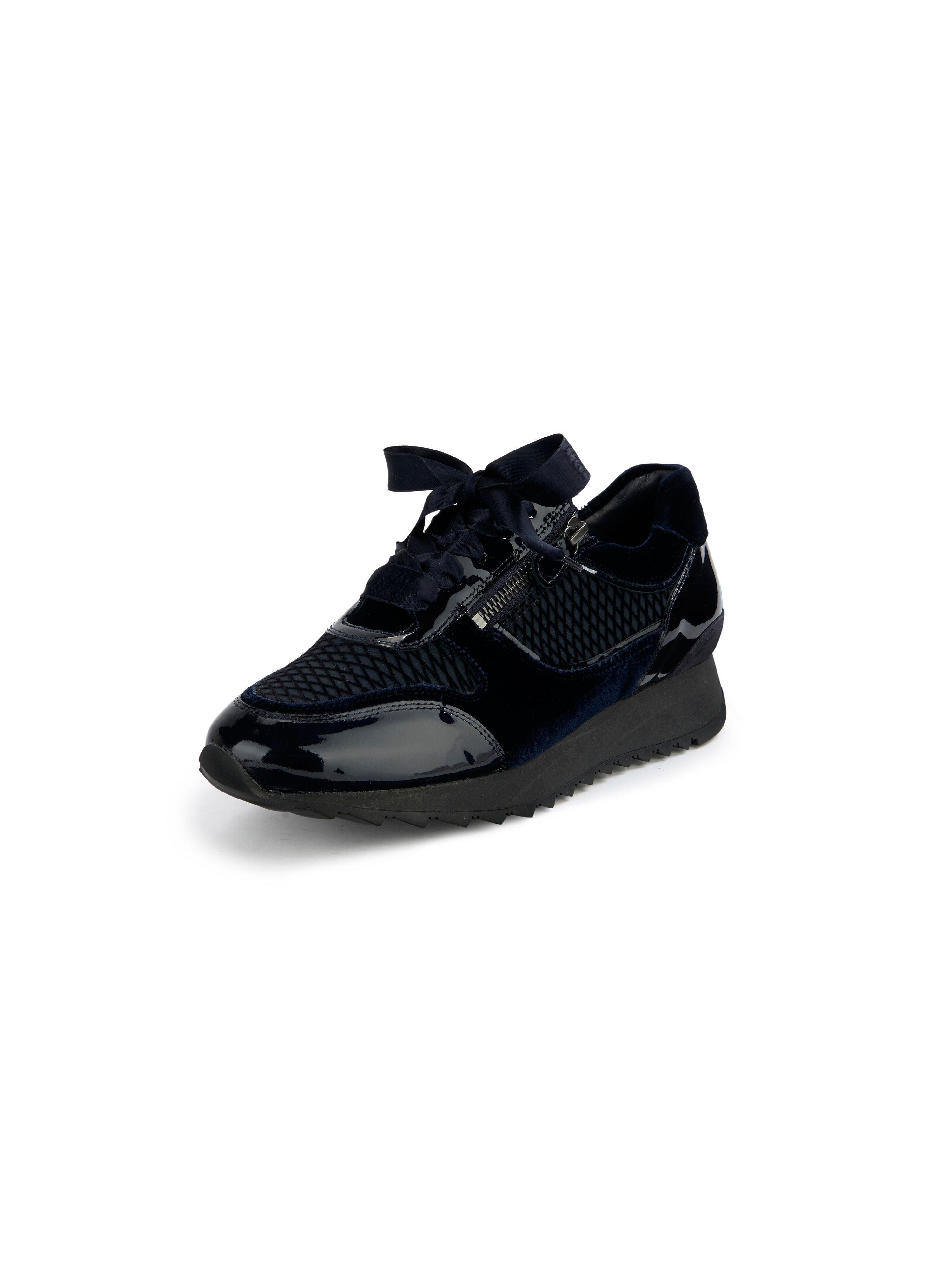 Sneakers model Madrid Van Hassia blauw
