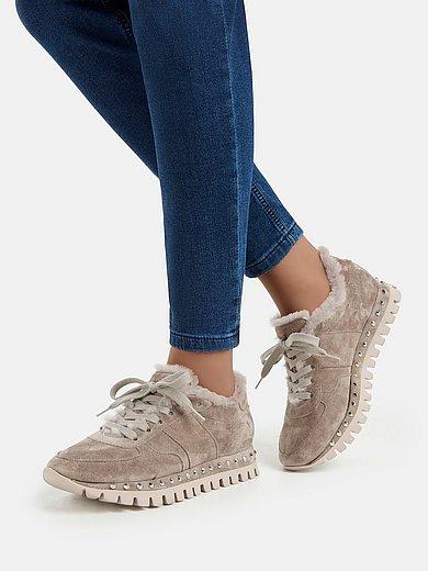 Sneaker Flow MIT Lammfell Einfass