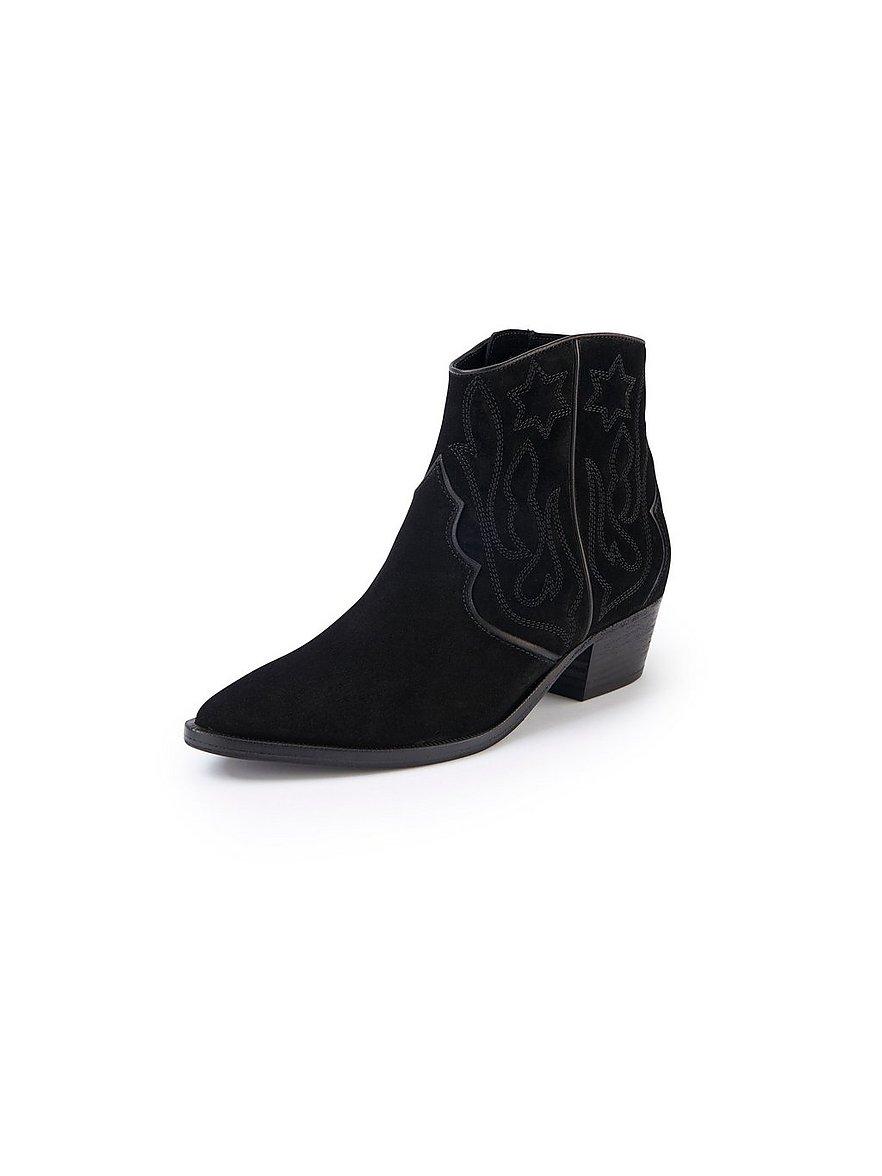 kennel & schmenger - Trendige Cowboy-Stiefelette Eve Stickerei  schwarz Größe: 38