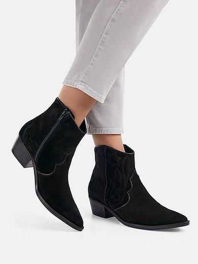 Kennel & Schmenger - Trendikkäät cowboy-saapikkaat, kirjailtu Eve-malli