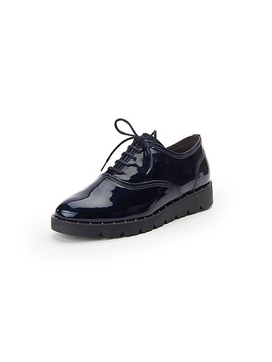 Softwaves - Lace-up shoes in 100% leather