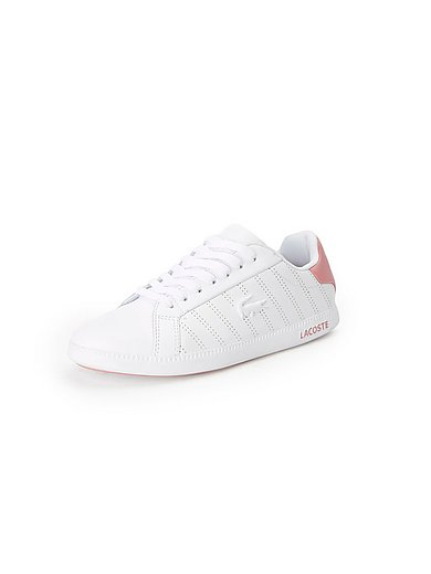 Lacoste - Les sneakers Graduate en cuir nappa