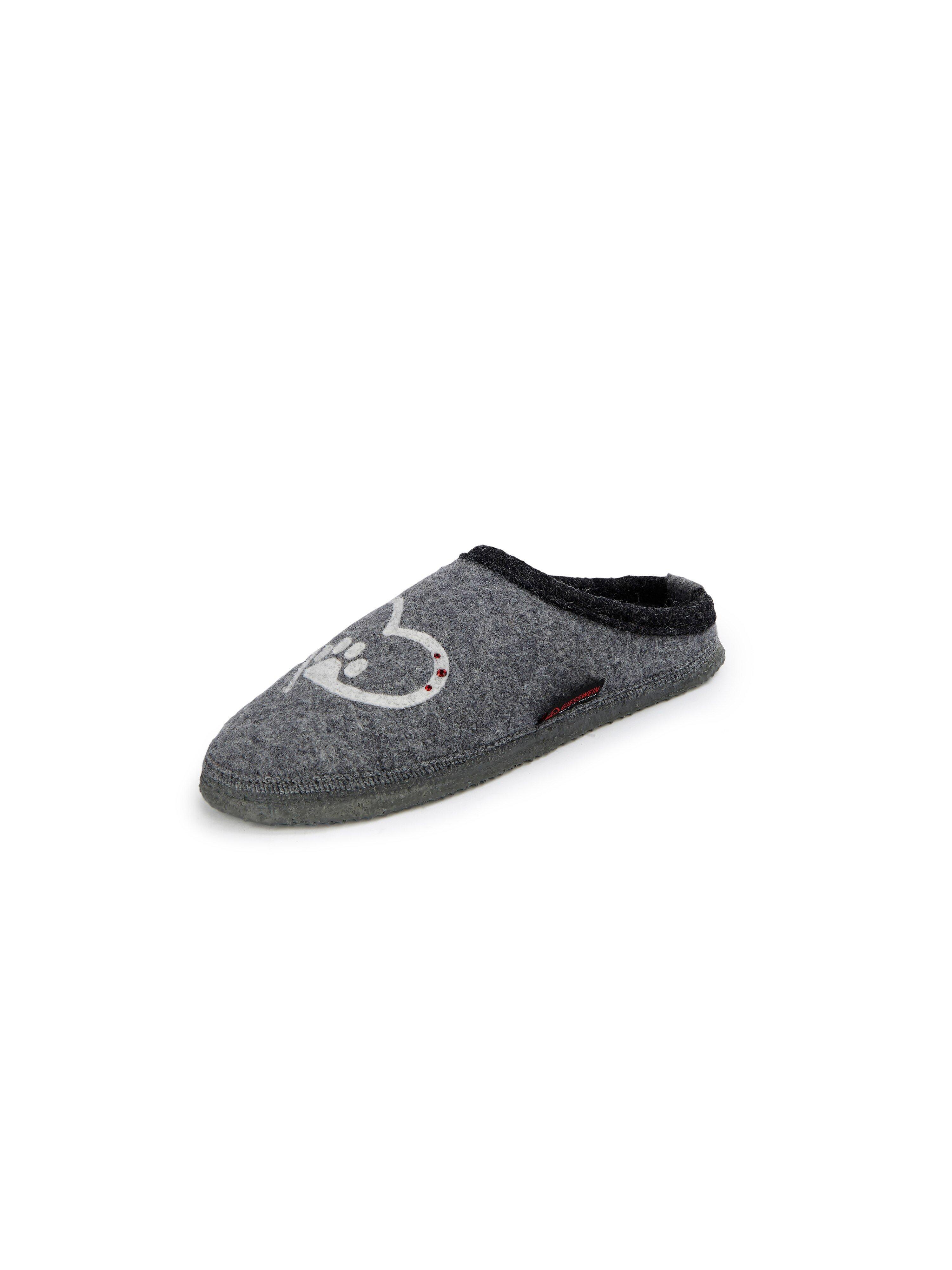 Pantoffels Van Giesswein grijs