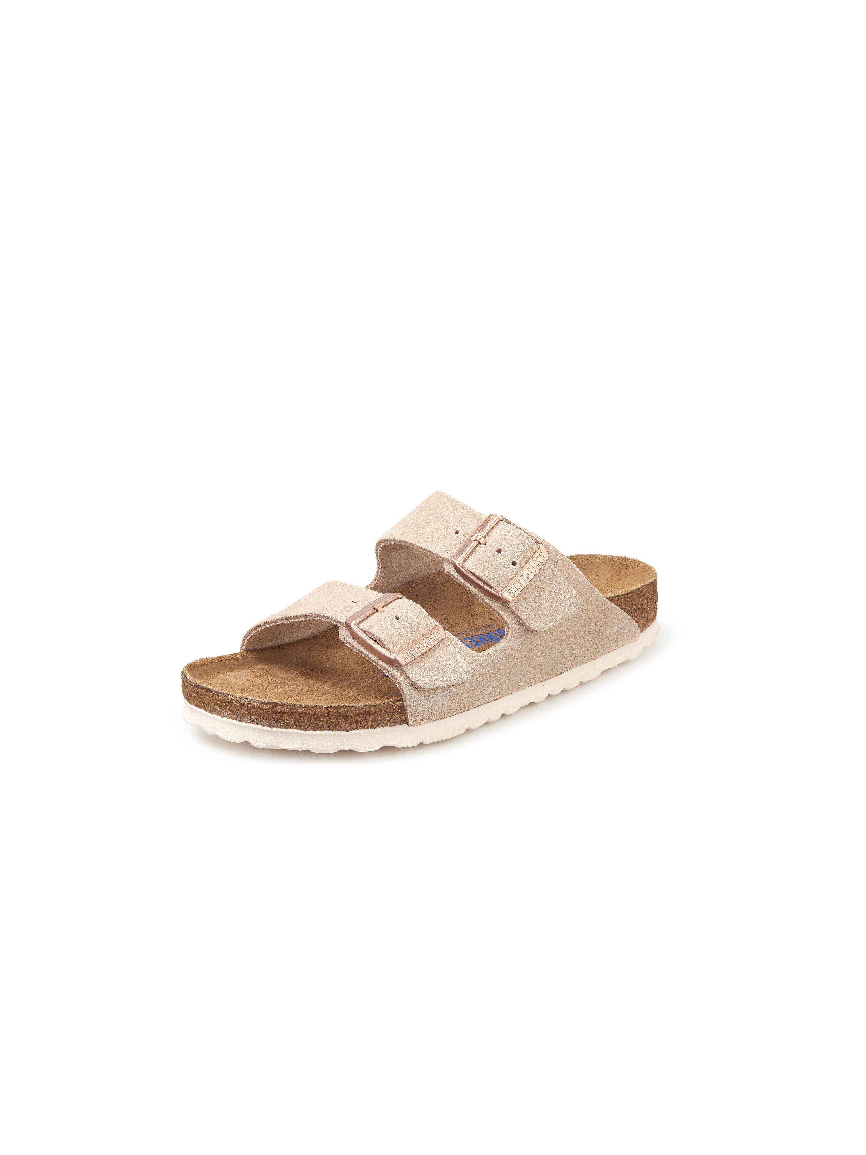 Slippers model Arizona Van Birkenstock beige