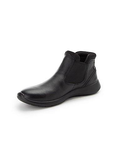 Ecco Stiefelette Soft 5 aus 100% Leder Schwarz