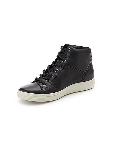 Ecco - Knöchelhoher Sneaker Soft 7 aus 100% Leder