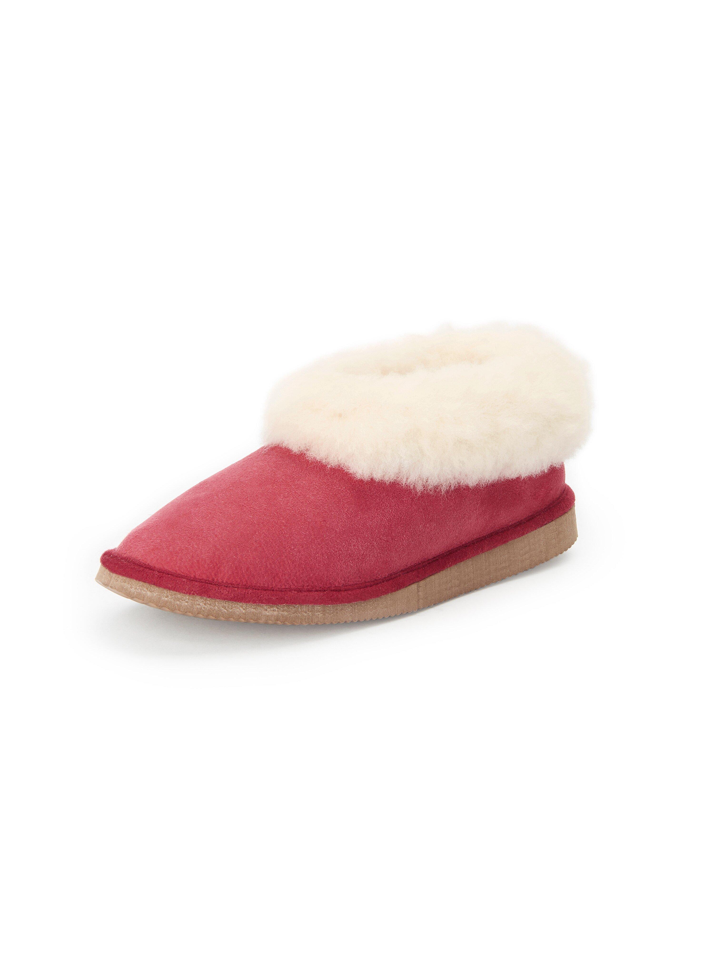 Pantoffels Van Kitzpichler rood