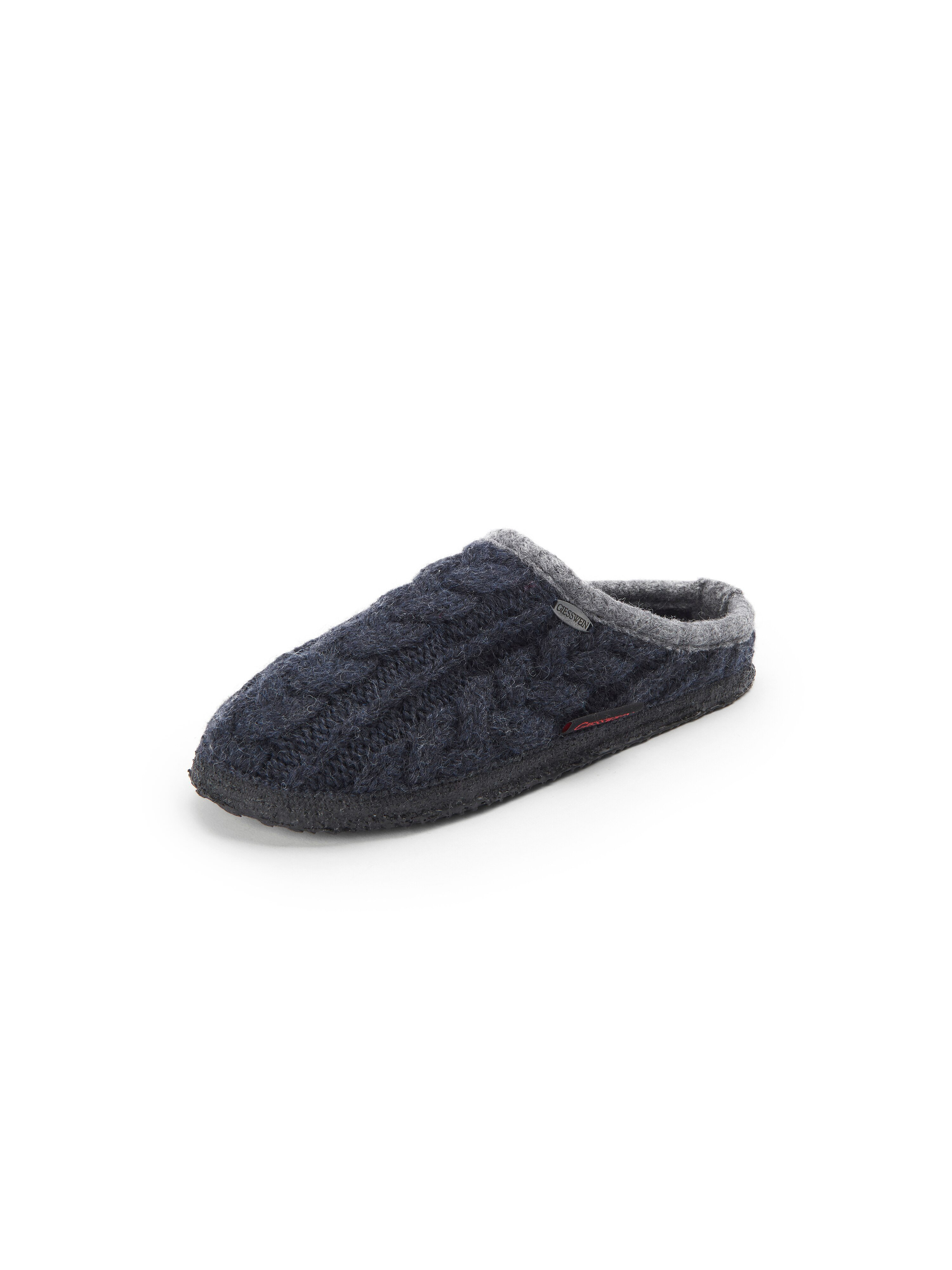 Pantoffels Van Giesswein blauw