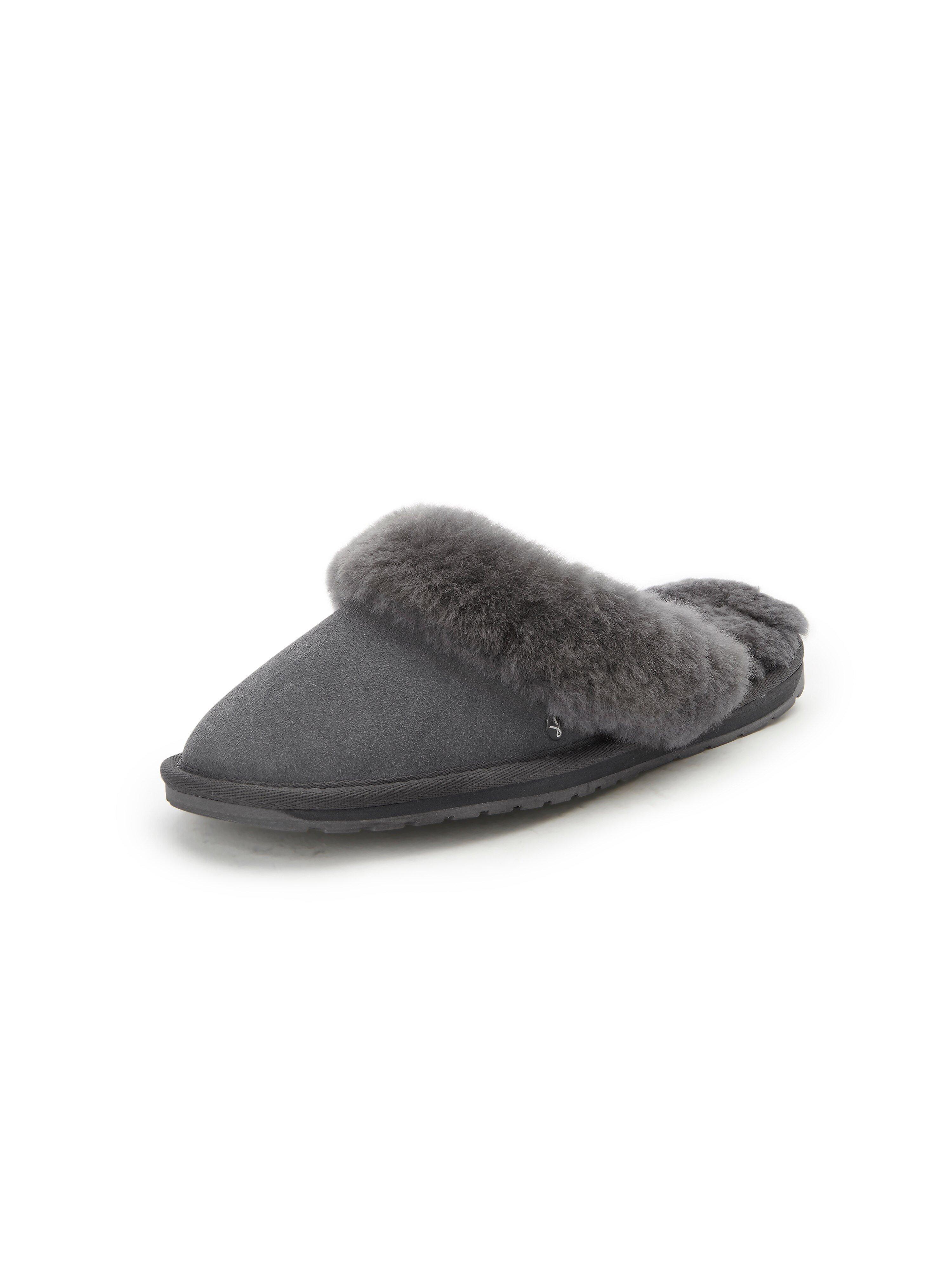 Pantoffels Van Emu grijs
