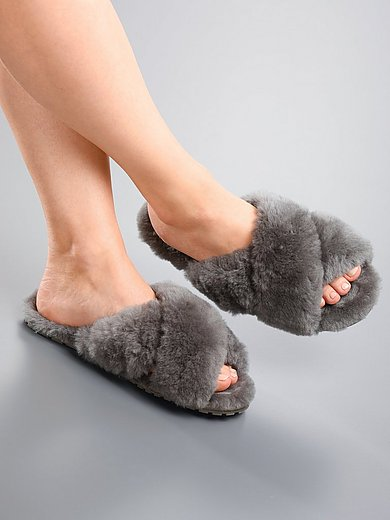 Emu - Lammfell-Pantolette
