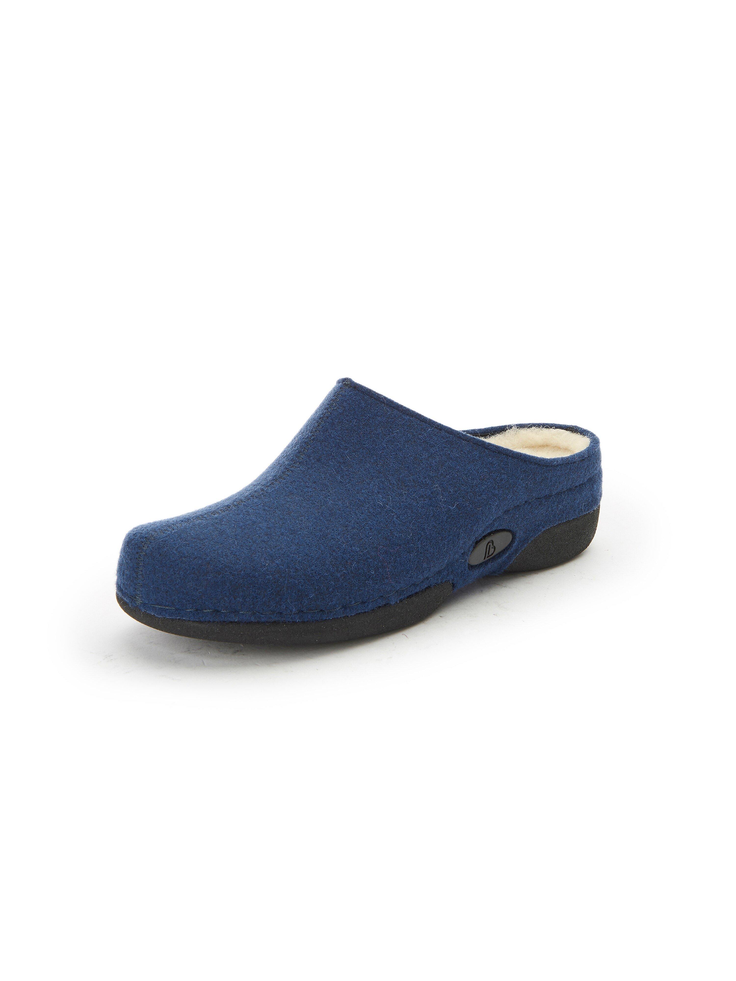 Pantoffels Van Berkemann Original blauw