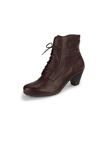 Gabor - Lace-up ankle boots with zip fastener