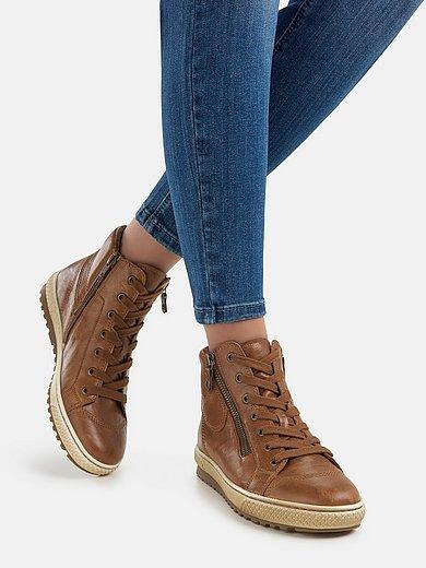 Gabor - Sneakers van schaapsnappaleer met rubberzool