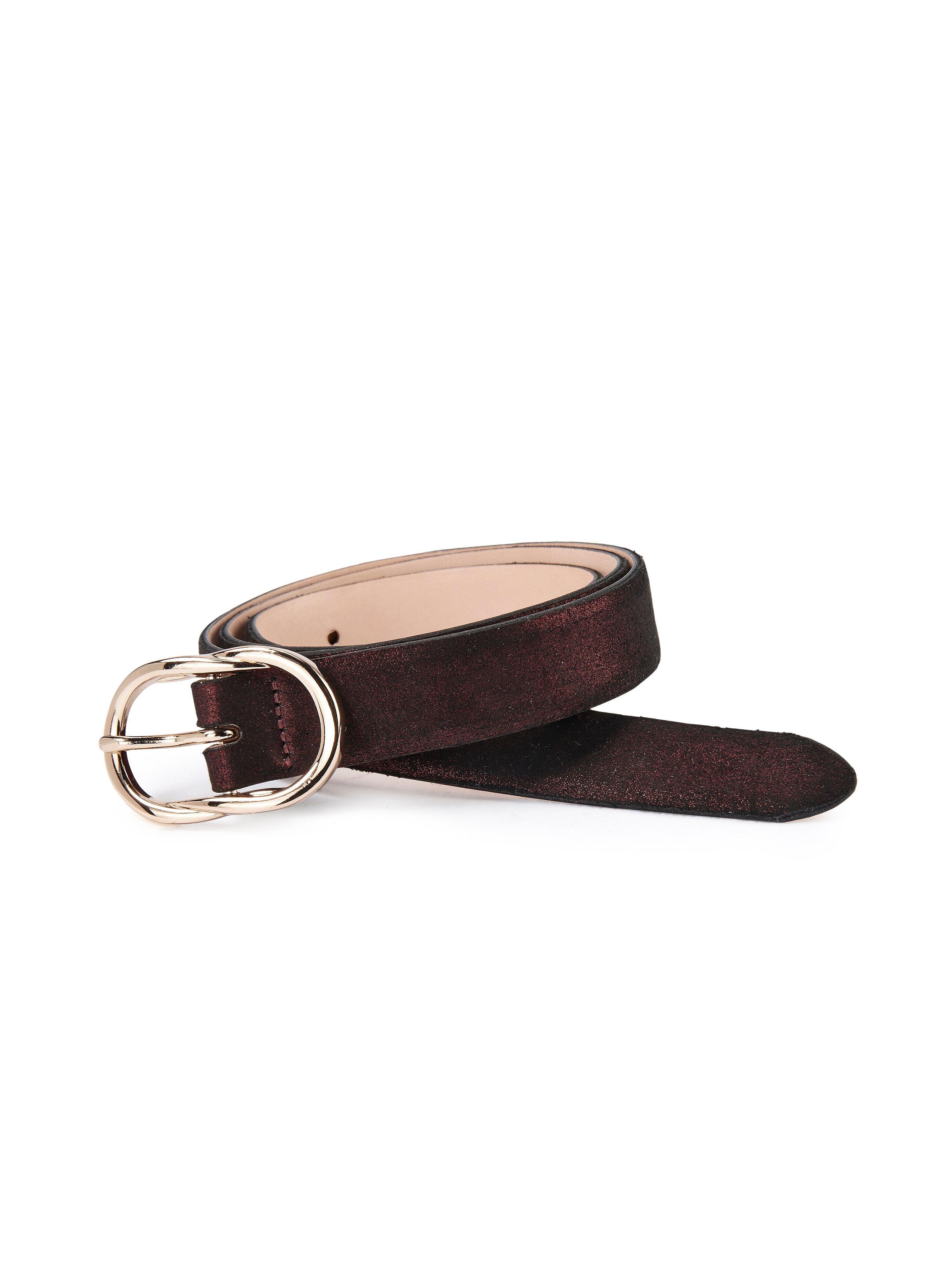 La ceinture  Uta Raasch rouge taille 105