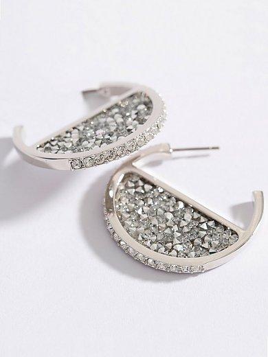 Uta Raasch - Les boucles d'oreilles avec cristaux Swarovsk