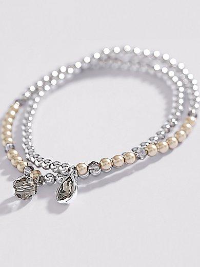 Uta Raasch - Le lot de 2 bracelets extensibles