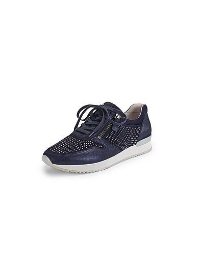 Gabor - Sneakers van geitensuèdeleer met Best fitting