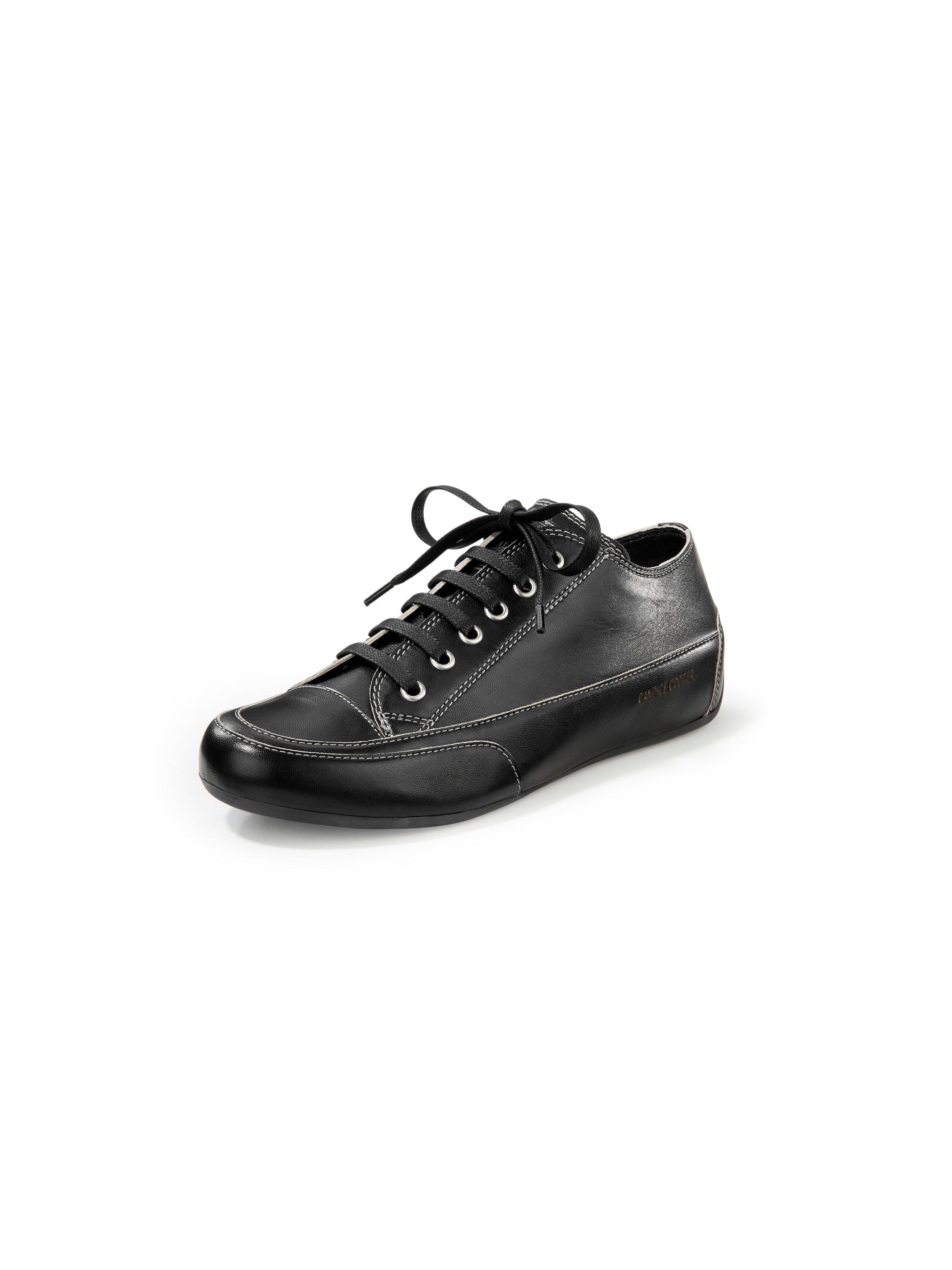 Sneakers van kalfsnappaleer Van Candice Cooper zwart