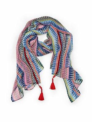 Sjaal Van Peter Hahn multicolour