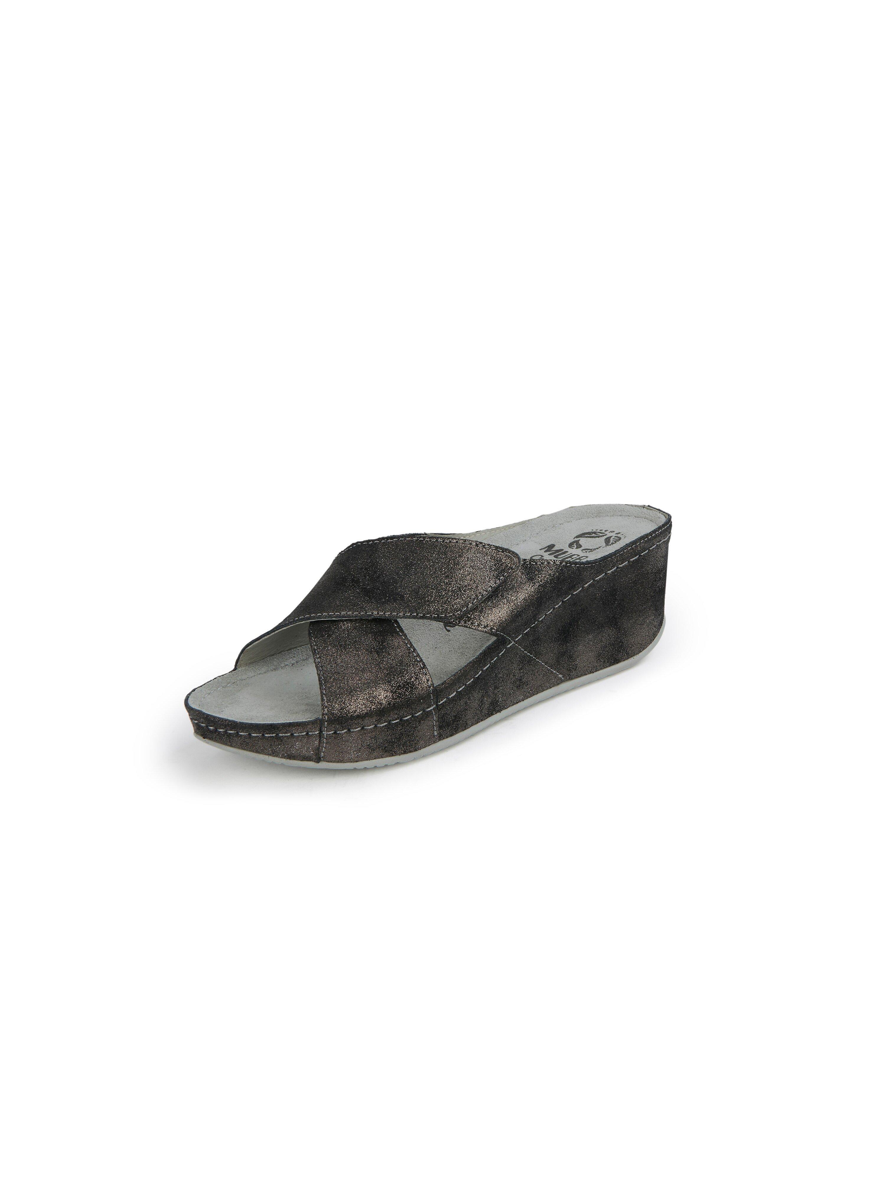 Slippers Van MUBB zwart