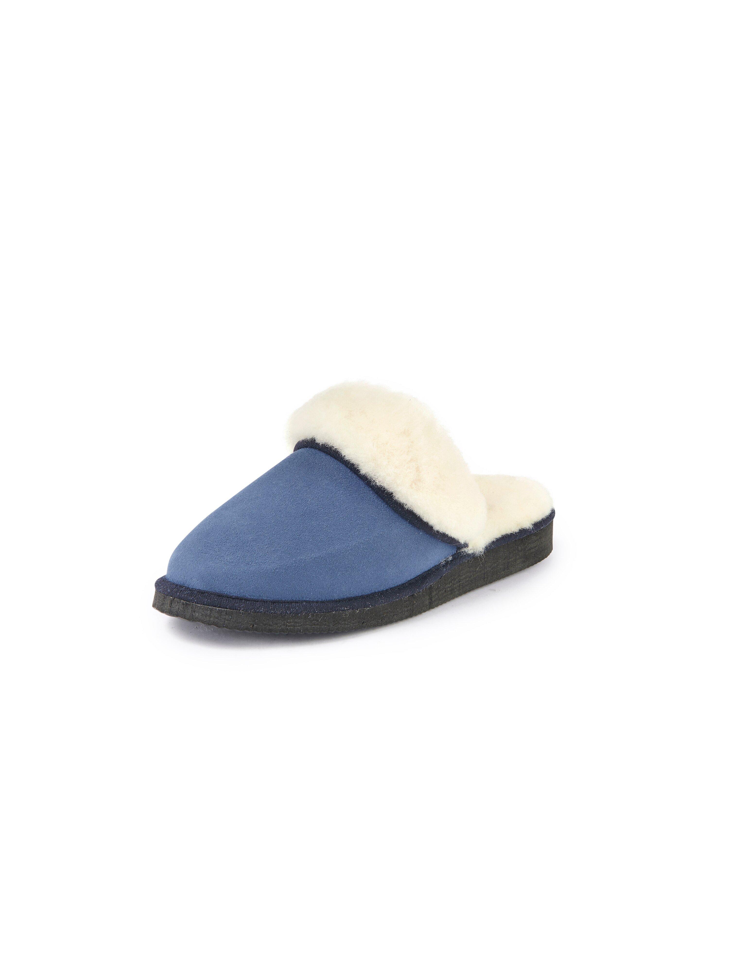 Pantoffels model Pala Van Kitzpichler blauw