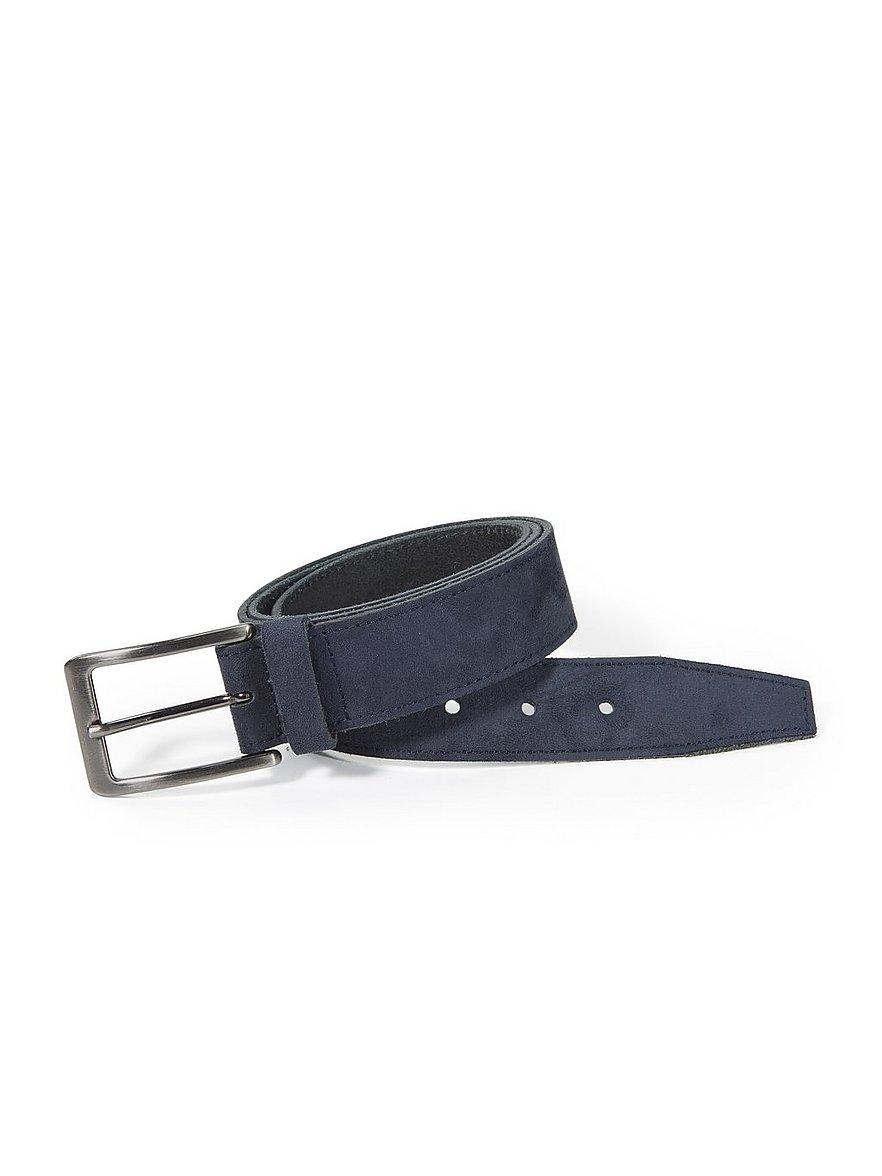 peter hahn - Gürtel  blau Größe: 105