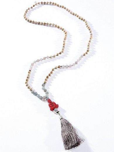 Juwelenkind - Le sautoir à perles de cèdre