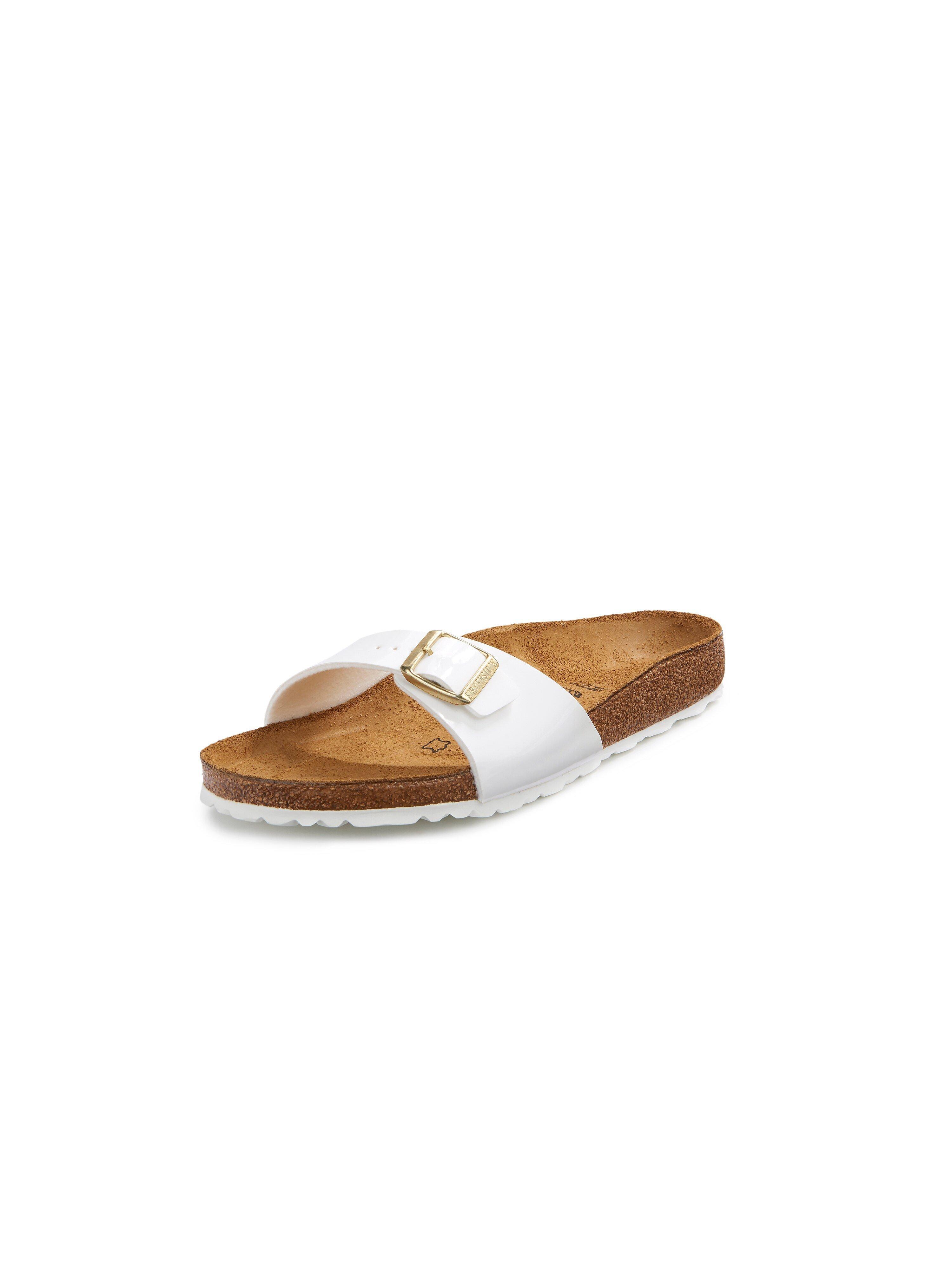 Slippers Madrid Van Birkenstock wit