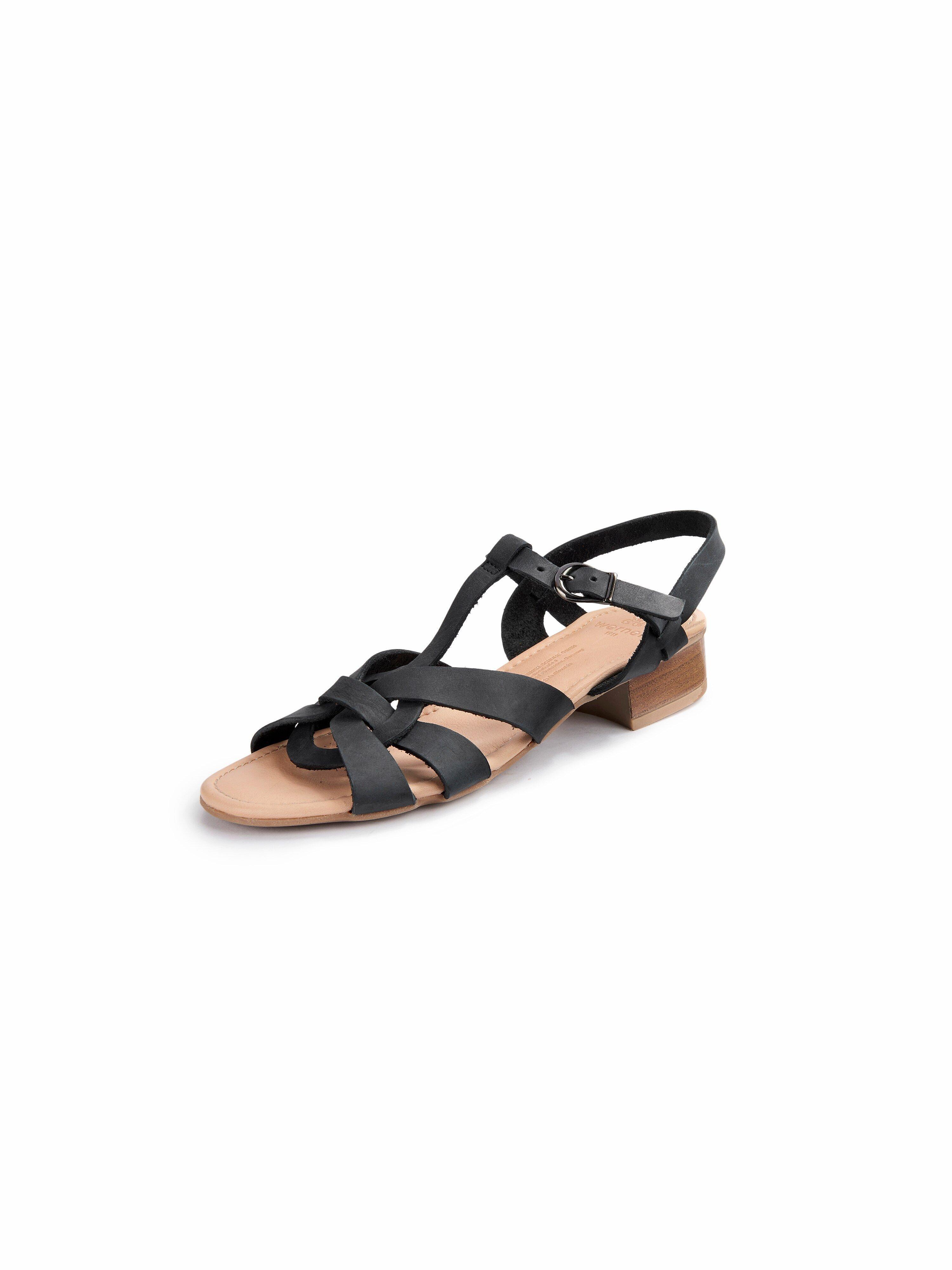 Les sandales  Werner Schuhe noir taille 41