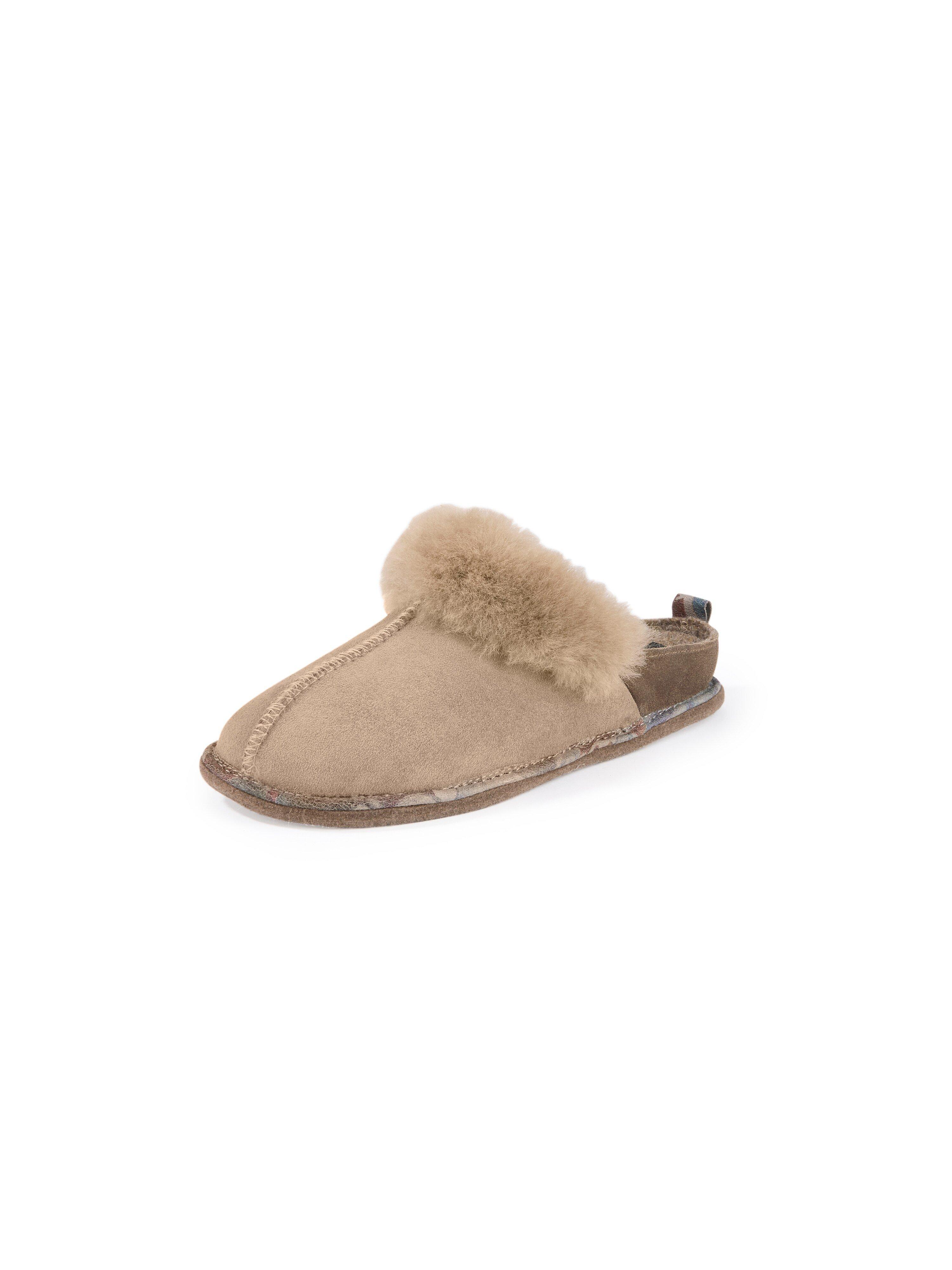 Lammy-pantoffels Van Romika beige