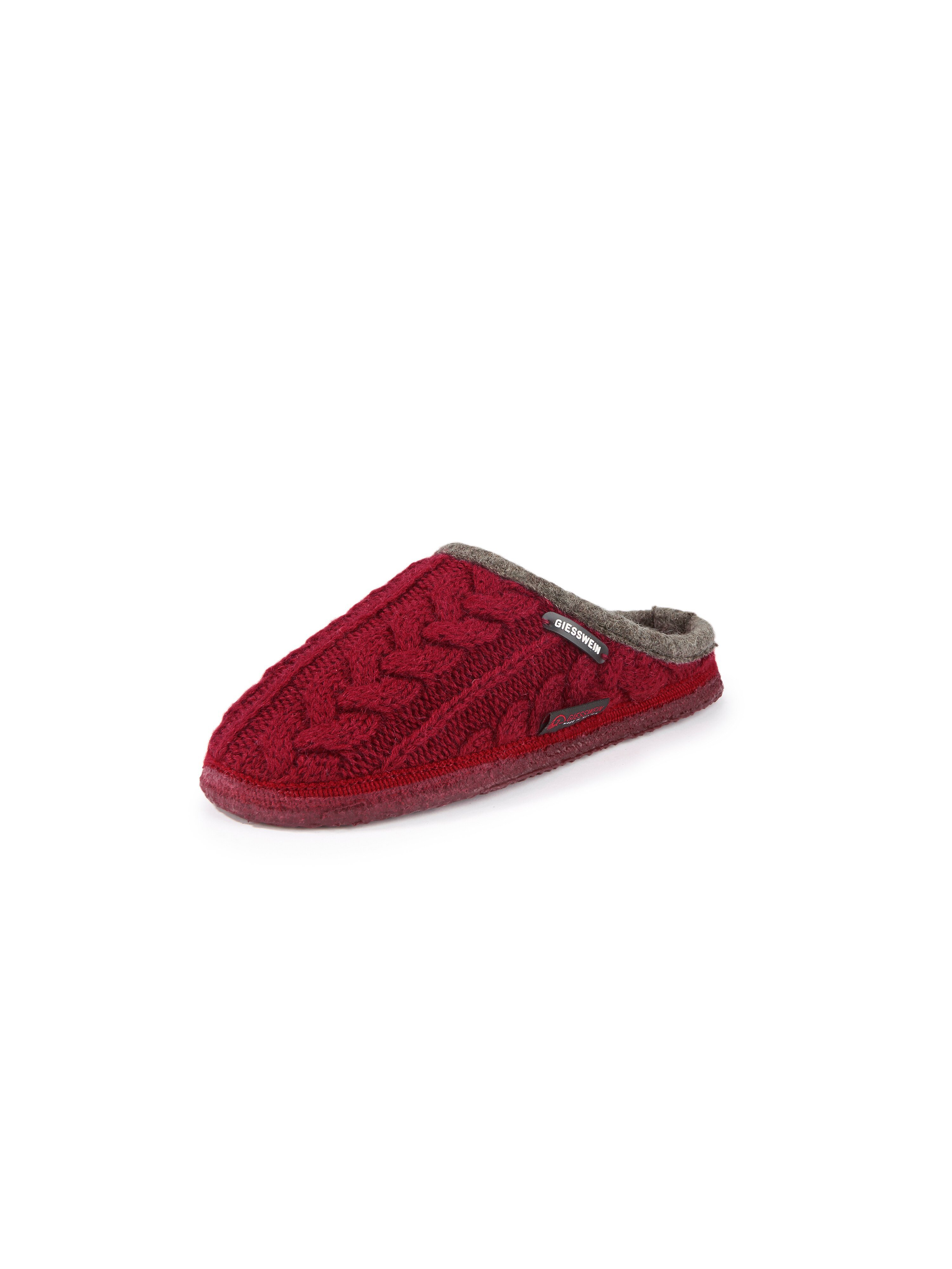 Pantoffels Van Giesswein rood
