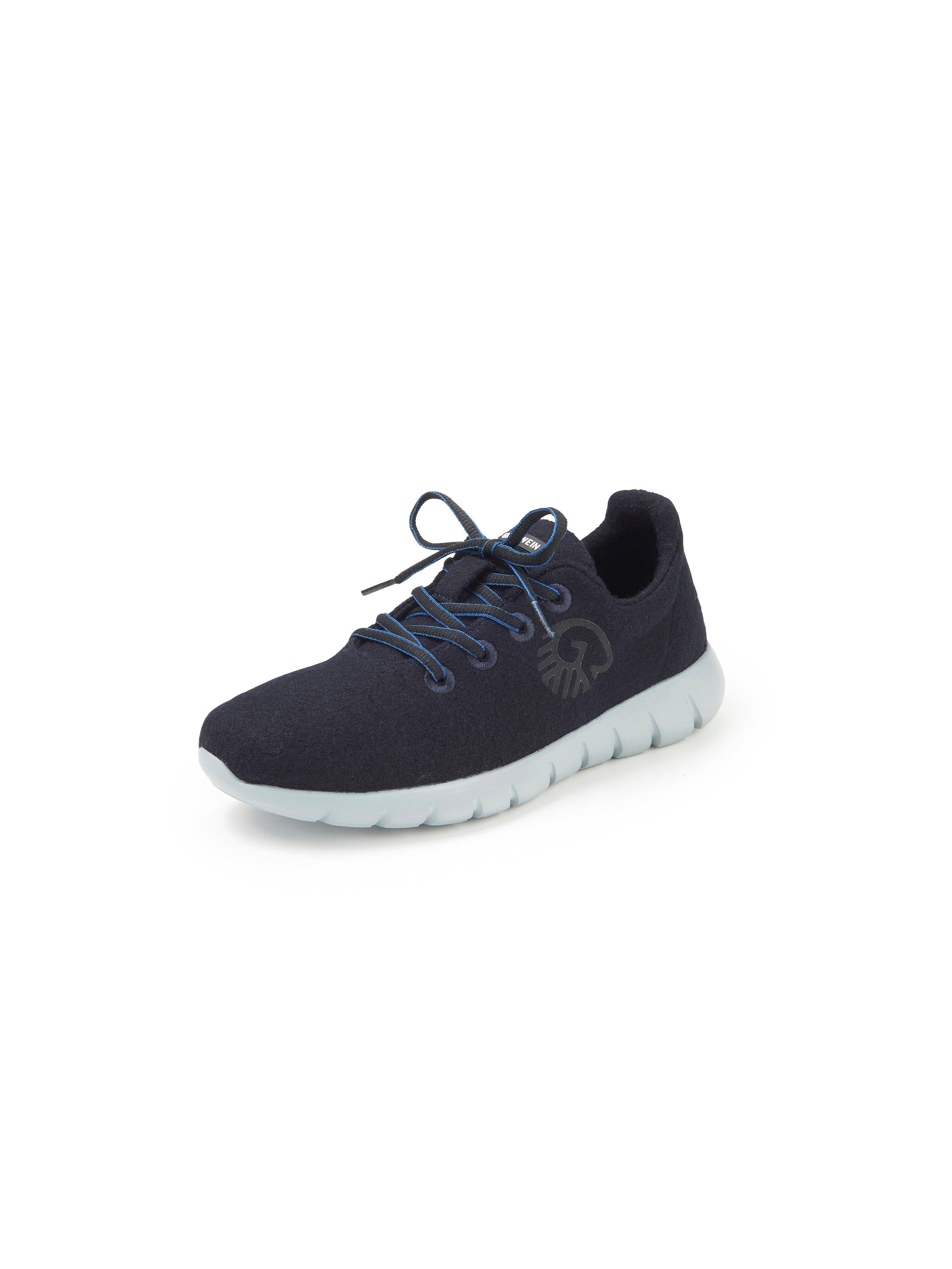 Sneakers model Merino Wool Runners Van Giesswein blauw