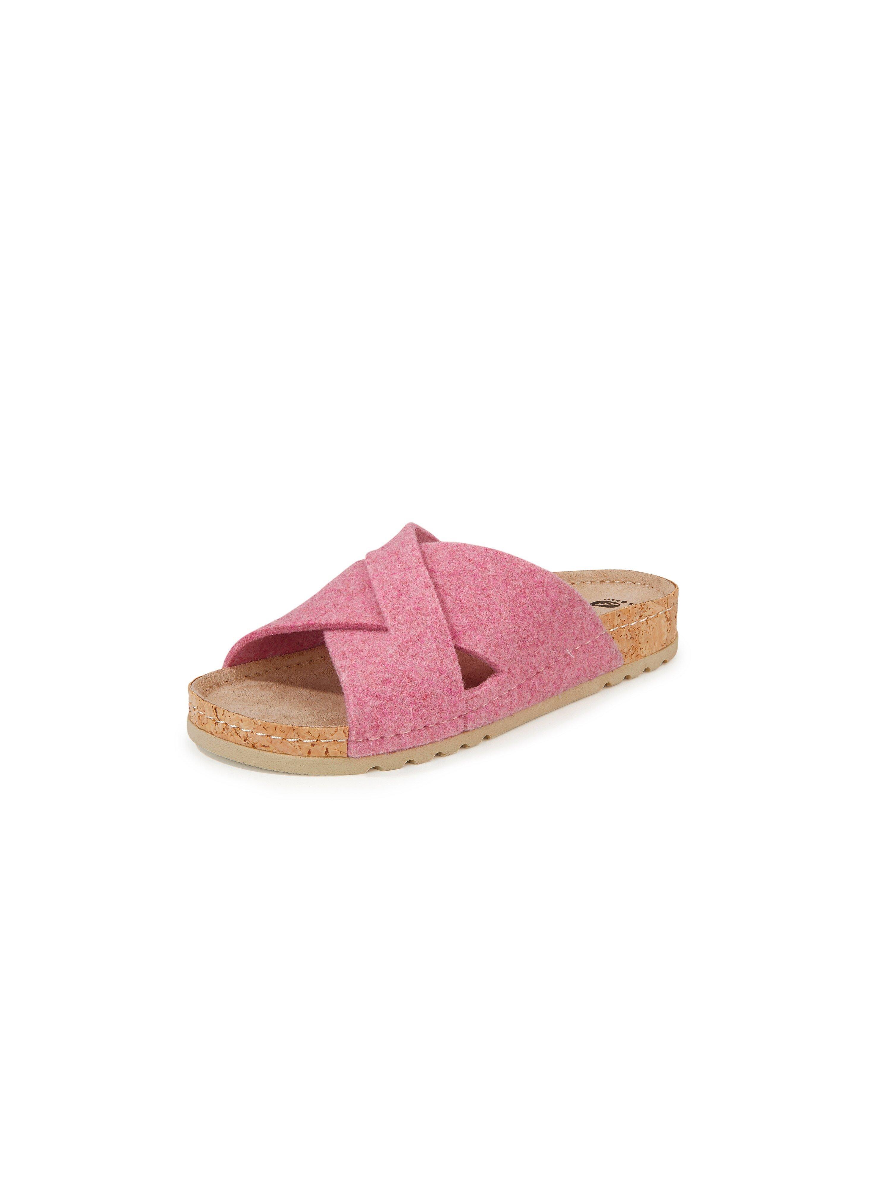 Slippers Van MUBB lichtroze