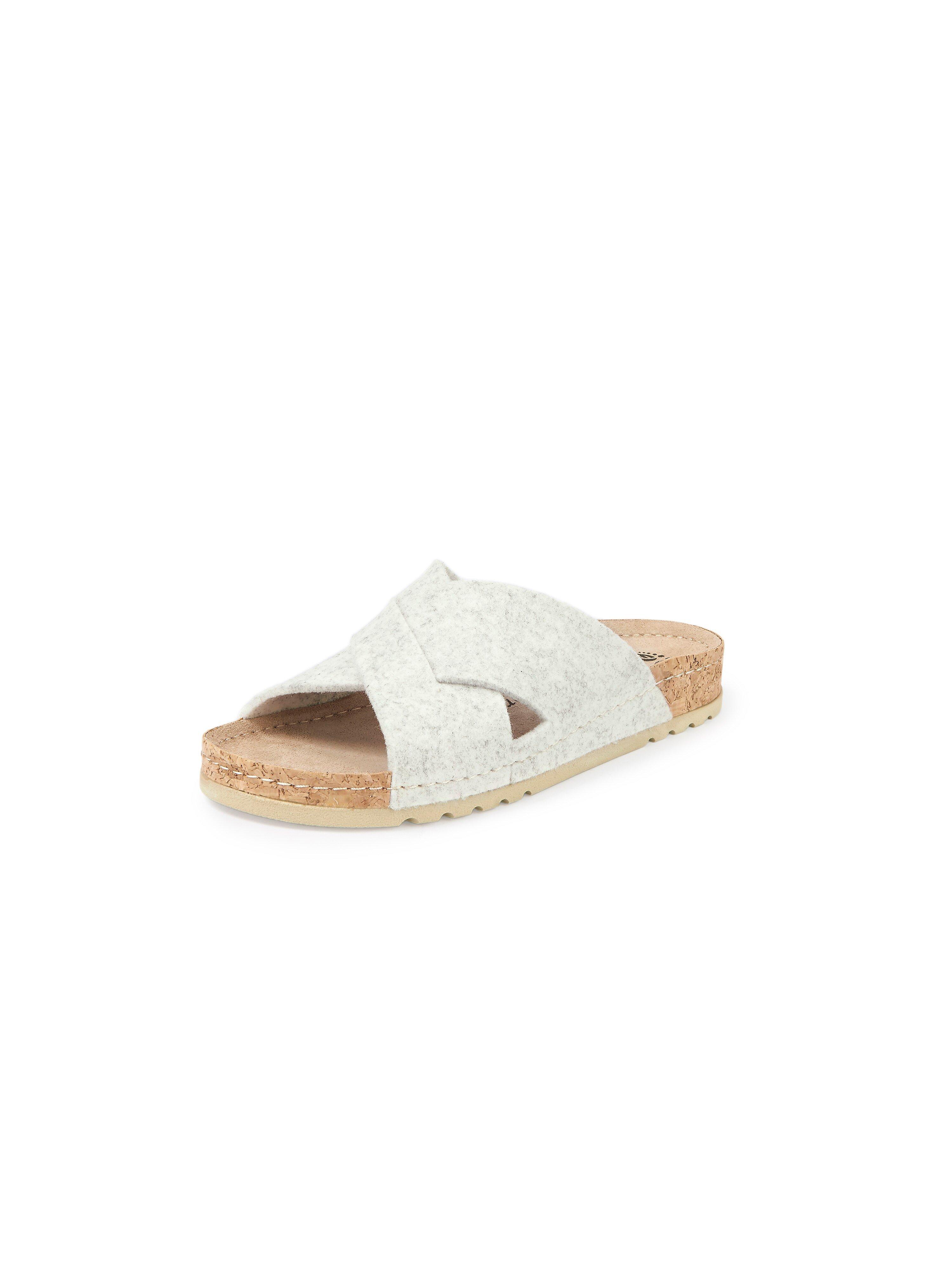 Slippers Van MUBB wit