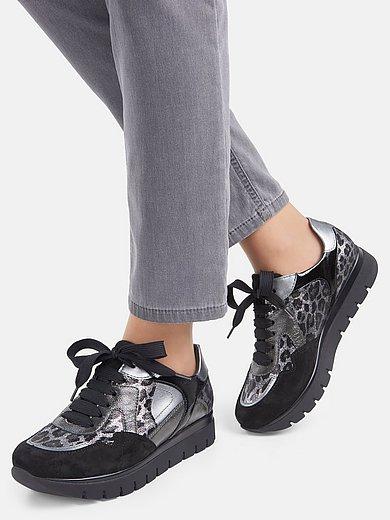 Semler - Sneakers Silvia met lakleren details