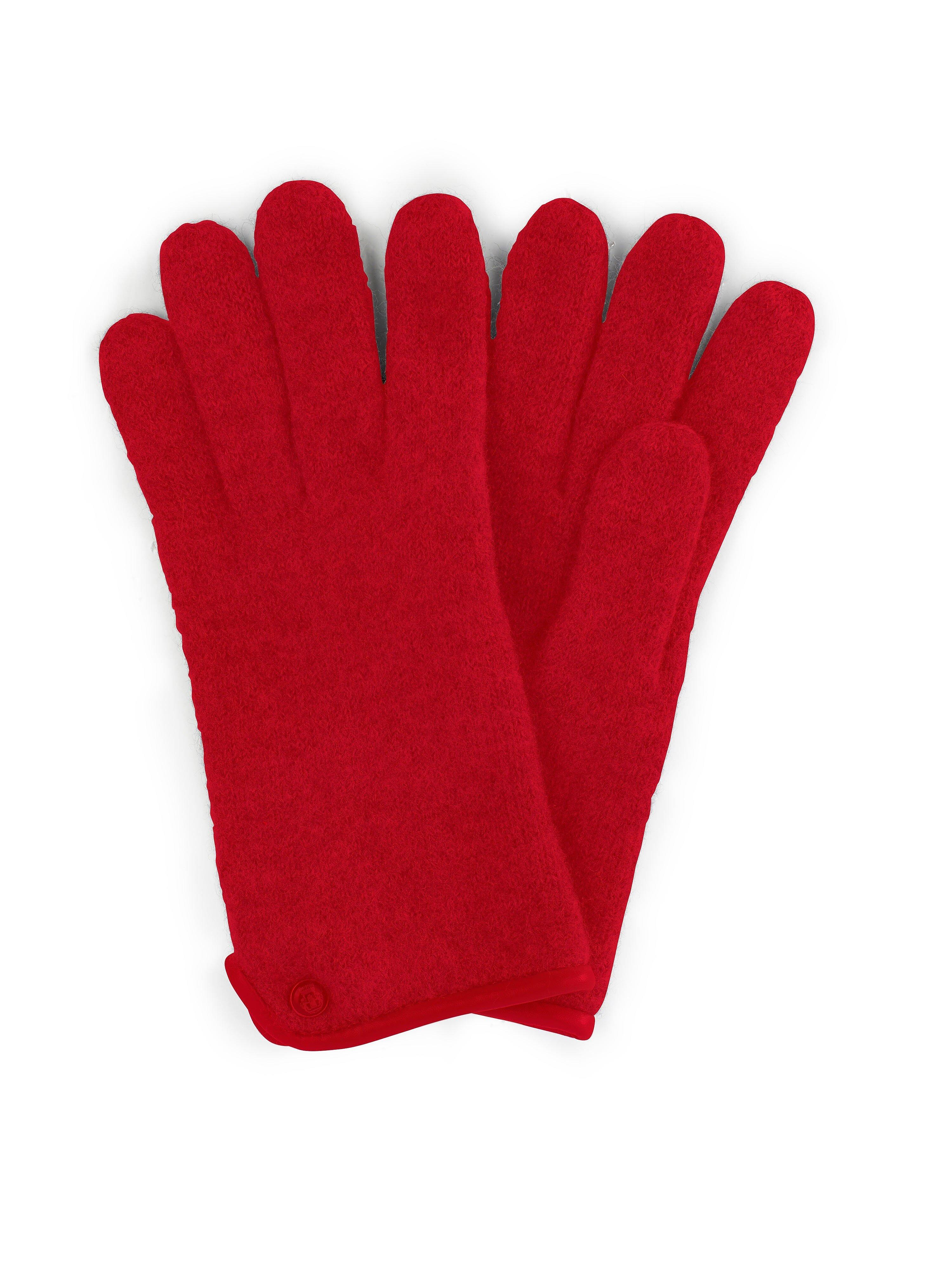 Les gants 100% laine vierge  Roeckl rouge taille 8