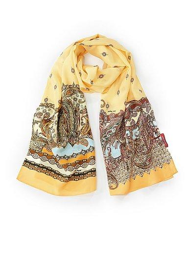 Laura Biagiotti Roma - Sjaal van 100% zijde met randdessinprint